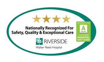 Riverside Walter Reed Hospital logo